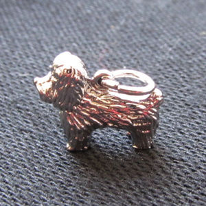 Jewelry - 3/$15 Sterling Silver Dog Charm New Without Tags